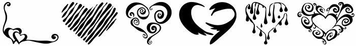 Symbol Herz kopieren