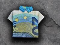 Symbolbild für den 20. Geburtstag - 20 Euro Schein