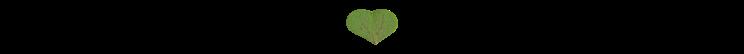 Natur Herz Ornament