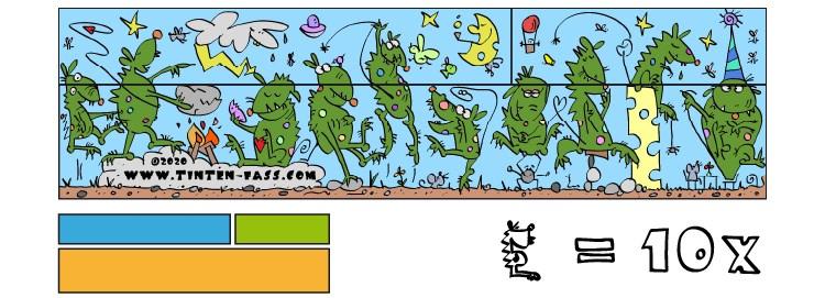 Rätsel für Kinder: Lösung mit 10 Dinos